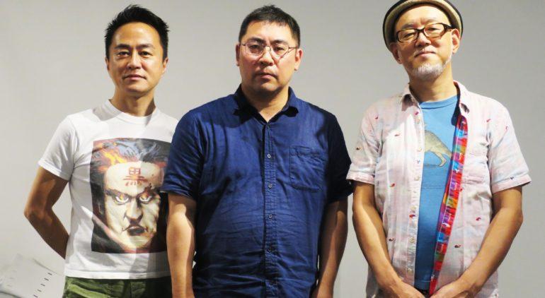 ※写真 左から 黒川塾主宰 黒川文雄 三宅陽一郎 森川幸人