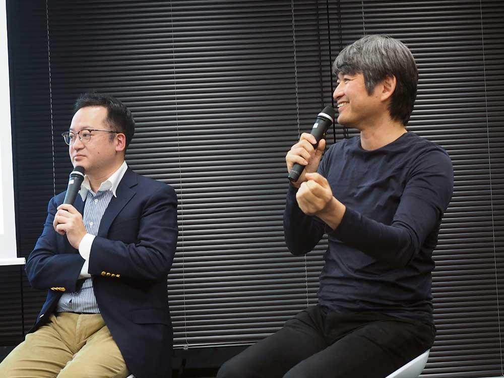 水口哲也氏×稲見昌彦氏によるトークセッション「ARがもたらす身体の変化」――「ARISE#2 -Spatial Experience Summit-」レポートその③ | 拡現人